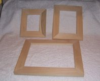 Unfinished wood frames in Alamogordo, New Mexico