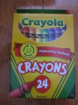 Crayons (new) in Travis AFB, California