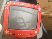 "13"" red dora tv with remote in Eglin AFB, Florida"