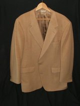 100 % Camel Hair Jacket 42 Regular Tan in Naperville, Illinois