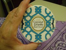 Cru de Provence Coconut & Vanila Bath Caviar With Crisp Lavender Bandana in Kingwood, Texas