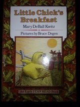 Little Chick's Breakfast book in Camp Lejeune, North Carolina
