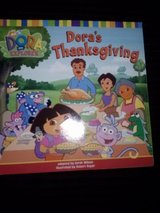 Dora's Thanksgiving book in Camp Lejeune, North Carolina