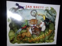 The Umbrella book by Jan Brett in Camp Lejeune, North Carolina