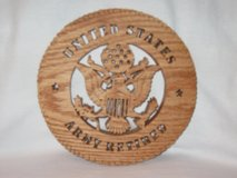 Wooden decor for Military in Fort Riley, Kansas